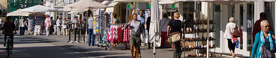 Einkaufen in Travemünde