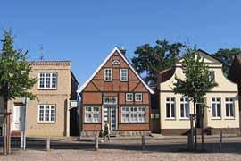 Travemünde Altstadt Fachwerkhaus © TraveMedia