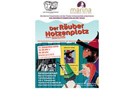 Flyer Der Räuber Hotzenplotz in der Marina - F.J. Tripp © Thienemann Verlag