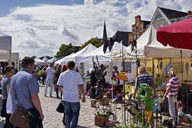 Kunsthandwerkermarkt Travemünde