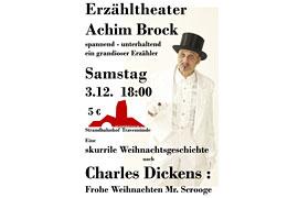 Plakat - Achim Brock - Weihnachtsgeschichte