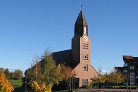 Versöhnungskirche im Pommernzentrum in Lübeck-Travemünde