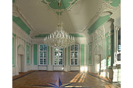 Rokokosaal im Kreismuseum Ratzeburg