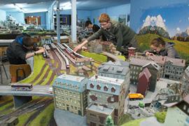 Modelleisenbahn-Anlage Train-Kids Eutin