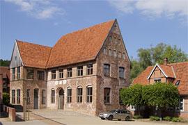 Stadthauptmannshof Medaillongebäude in Mölln
