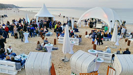 Winter-Strandclub Timmendorfer Strand © TSNT