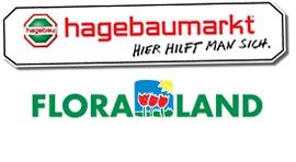 Logo hagebaumarkt floraland Lübeck