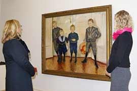 Edvard Munch - Die Söhne des Dr. Linde - Museum Behnhaus Drägerhaus