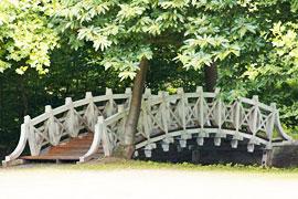 Schlossgarten Eutin - Chinesische Brücke