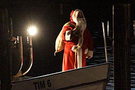 Weihnachtsmann - Niendorfer Hafen