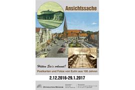 Plakat Ansichtssache - Ostholstein-Museum