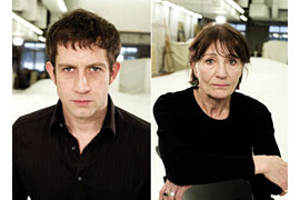 André Szymanski und Barbara Nüsse © Armin Smailovic