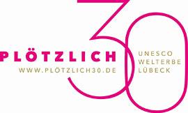 Logo Plötzlich 30 © Lübeck und Travemünde Marketing