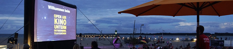 Travemünde - Kino unterm Ostseehimmel