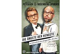 Plakat - Die Ängste der Hengste - Jan‐Peter Petersen und Lutz von Rosenberg Lipinsky