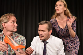 Kabarett-Theater DISTEL - Glück ist was für starke Nerven © Marlies Kross