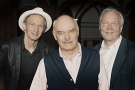 Abi Wallenstein, Charles Brauer und Günther Brackmann © Ellen Coenders