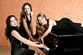 Alyana Pirola, Alina Pronina und Anne Salié © Peter Adamik