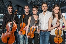 Aris Quartett und Thorsten Johanns © Vero Fotodesign