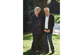 Christine und Frido Mann © Thomas Elsner