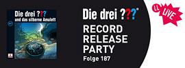 Die drei Fragezeichen - Record Release Party