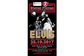 Plakat Elvis Presley Tributeshow im Paradiso in Weede