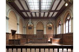Europäisches Hansemuseum - Gerichtssaal im Burgkloster © Werner Huthmacher