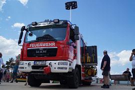 Feuerwehrauto der FFW Niendorf/Ostsee