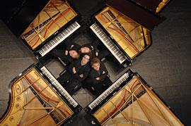 Gershwin Piano Quartet © Andreas Zihler