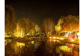 Lichterfest im Haffwiesenpark in Haffkrug © TALB