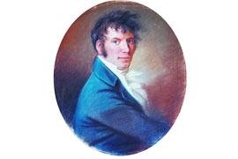Jens Baggesen, gemalt von Christian Hornemann (1806)