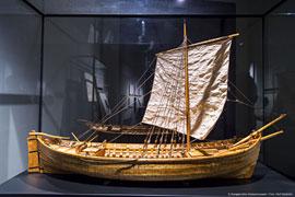 Modell Kogge - Europäisches Hansemuseum in Lübeck © Olaf Malzahn