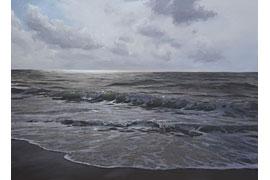 Lars Möller - Lichtung, Öl auf Leinwand, 190x260