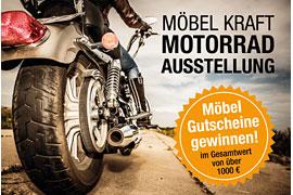 MÖBEL KRAFT Motorrad-Ausstellung © Andrey Armyagov