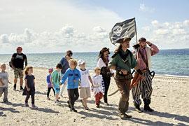 Piratenwanderung an der Lübecker Bucht © Tourismus-Agentur Lübecker Bucht