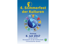 Plakat 4. Sommerfest der Kulturen