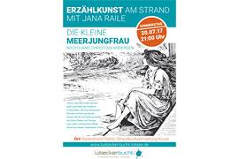 Plakat_Erzählkunst in Rettin - Die kleine Meerjungfrau