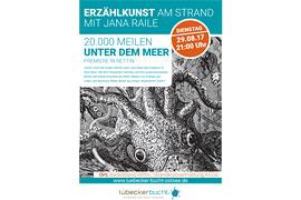 Plakat_Erzählkunst in Rettin - 20.000 Meilen unter dem Meer