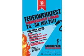 Plakat Feuerwehrfest Timmendorfer Strand 2017
