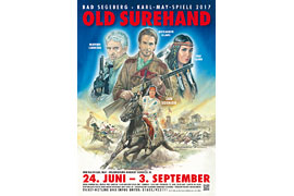 Plakat Old Surehand - Karl-May-Spiele Bad Segeberg 2017