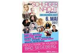 Plakat Schlagernacht Bad Segeberg 2017