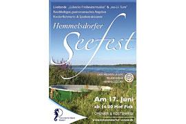 Plakat Hemmelsdorfer Seefest 2017