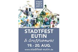 Plakat Stadtfest Eutin 2017