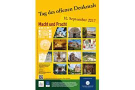 Plakat Tag des offenen Denkmals 2017