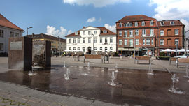 Ratzeburger Marktplatz © Tourist- Information Ratzeburg
