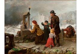 Rudolf Jordan - Sturmläuten auf Helgoland © Dr. Axe-Stiftung