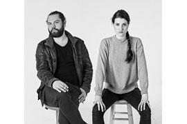 """Schauspieler Rachel Behringer und Jochen Weichenthal - """"Natürlich sind wir Narren"""" © Margret Witzke"""