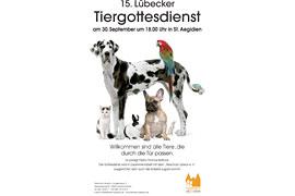 Tiergottesdienst in St. Aegidiesn zu Lübeck 2017