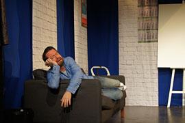 Total voll! - David Wehle © Theaterschiff Lübeck