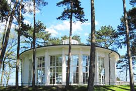 Trinkkurhalle in Timmendorfer Strand